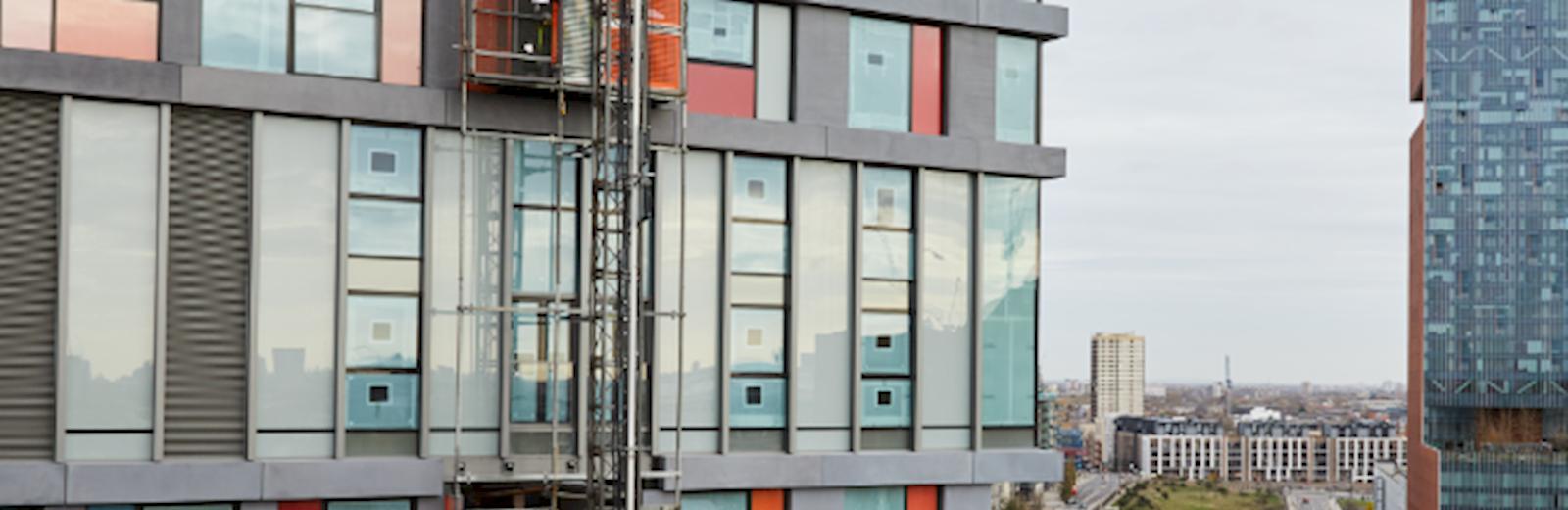 Colourful London flats - Mace