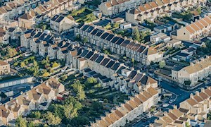 Aerial View of a Residential Apartments - Mace Group