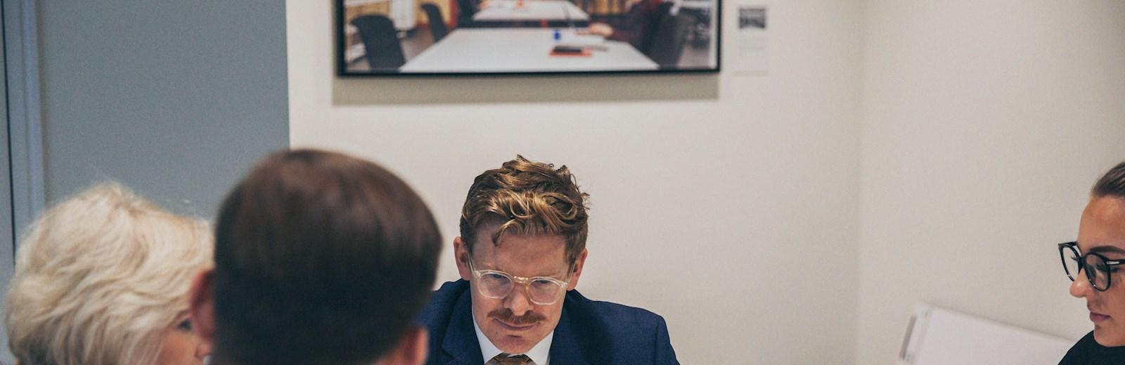 Mace team meeting, brainstorming