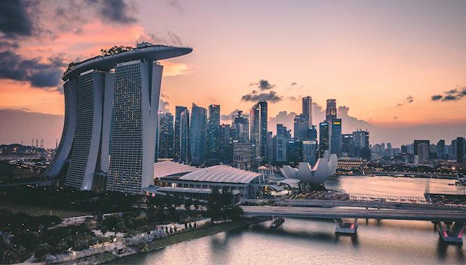 Singapore skyline Mace Group