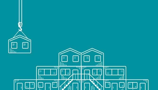 Construction, crane illustration - Mace Group