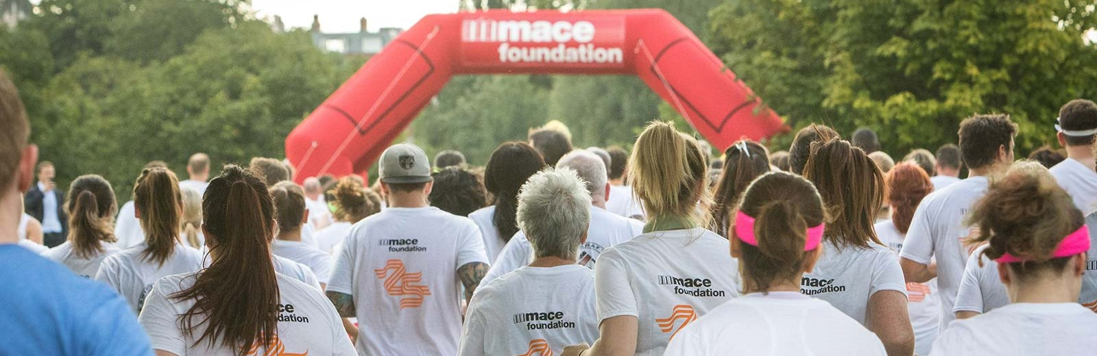 Mace Foundation Marathon Start - Mace Group
