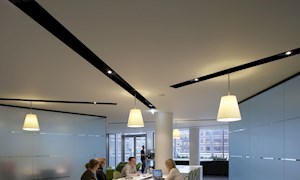 Office space people and desks - Mace Group