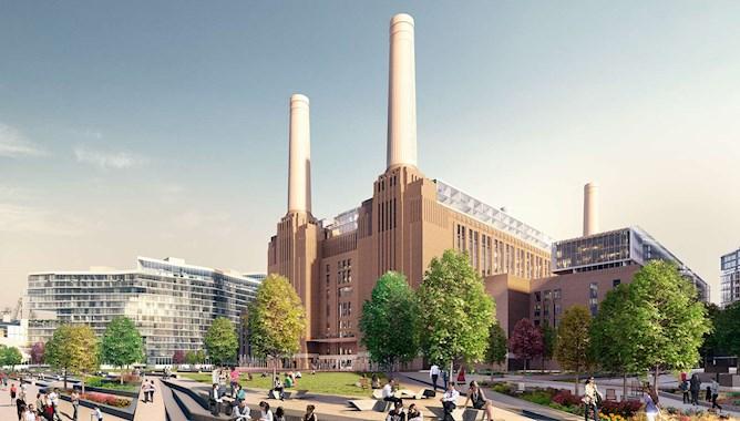 London Battersea Power Station Riverside View - Mace Group
