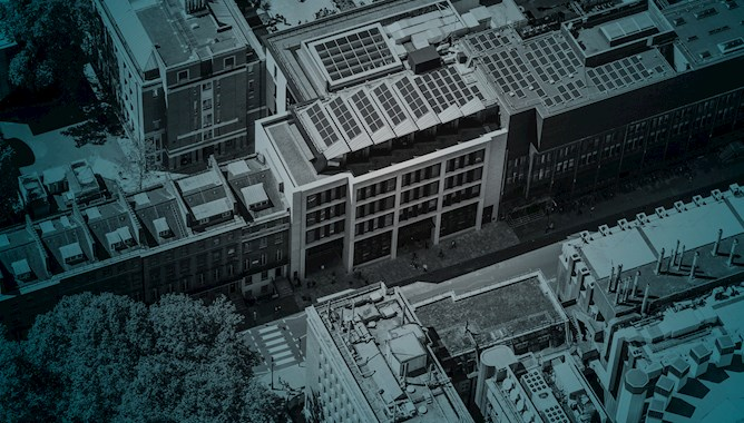 Aerial View of a  London Building - Mace Group