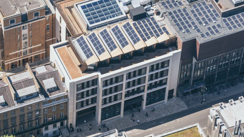 UCL Student Centre Solar Panel - Mace Group