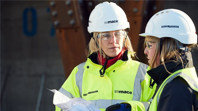 Two Female Constructors - Mace Group
