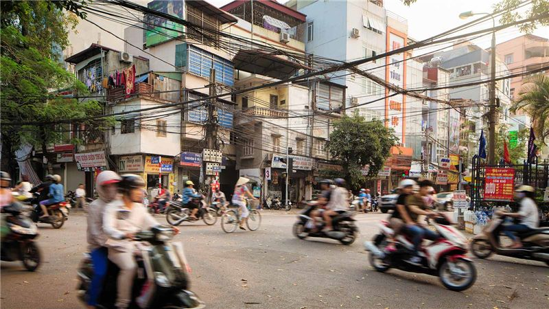 Scooters in Vietnam - Mace Group