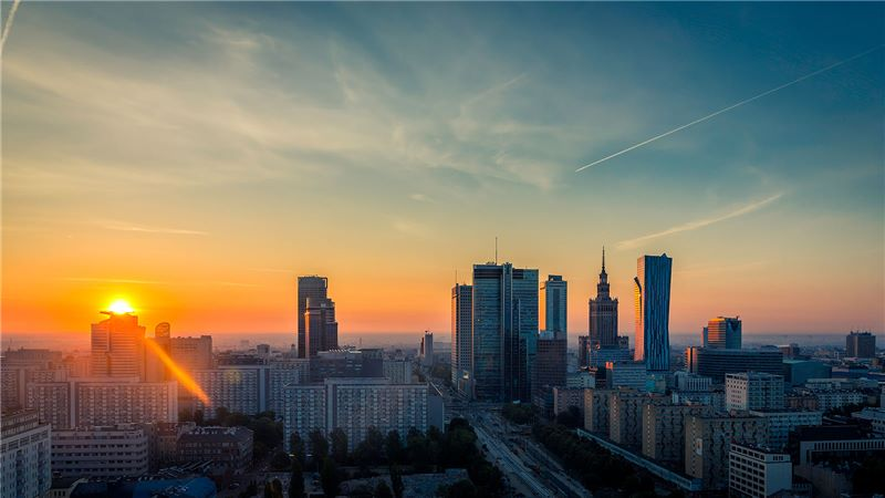 Sunrise in Poland - Mace Group
