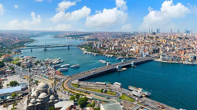 Aerial View of Eminönü, Istanbul - Mace Group