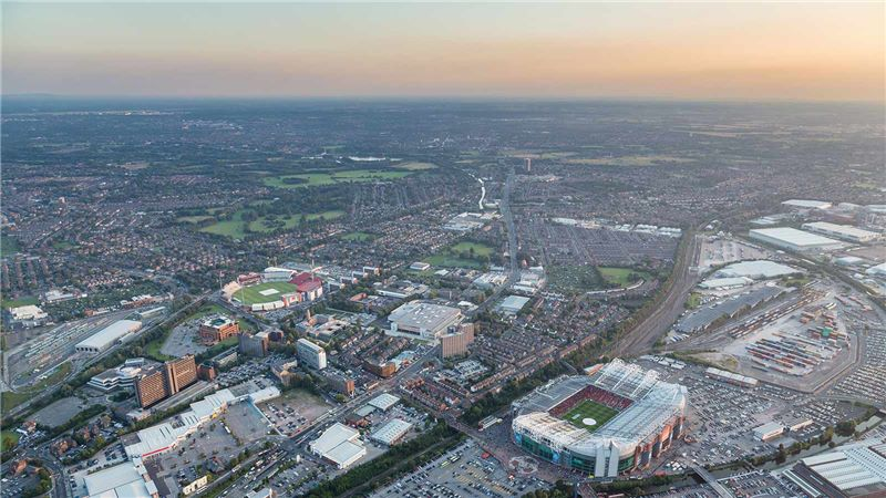 Aerial View of Manchester - Mace Group