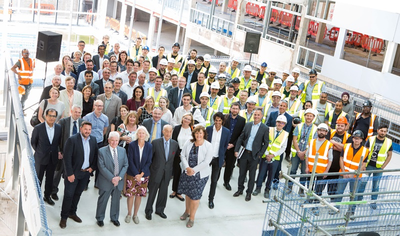 Mace People: Manchester Business Topping Out - Mace Group