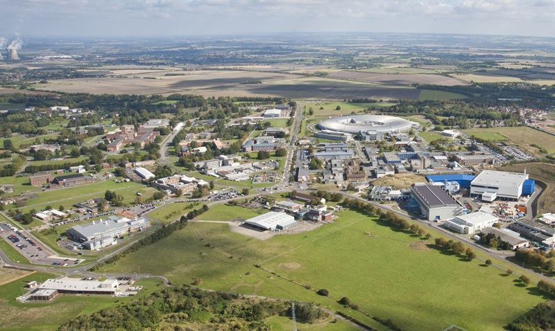 Aerial View of Harwell Campus - Mace Group