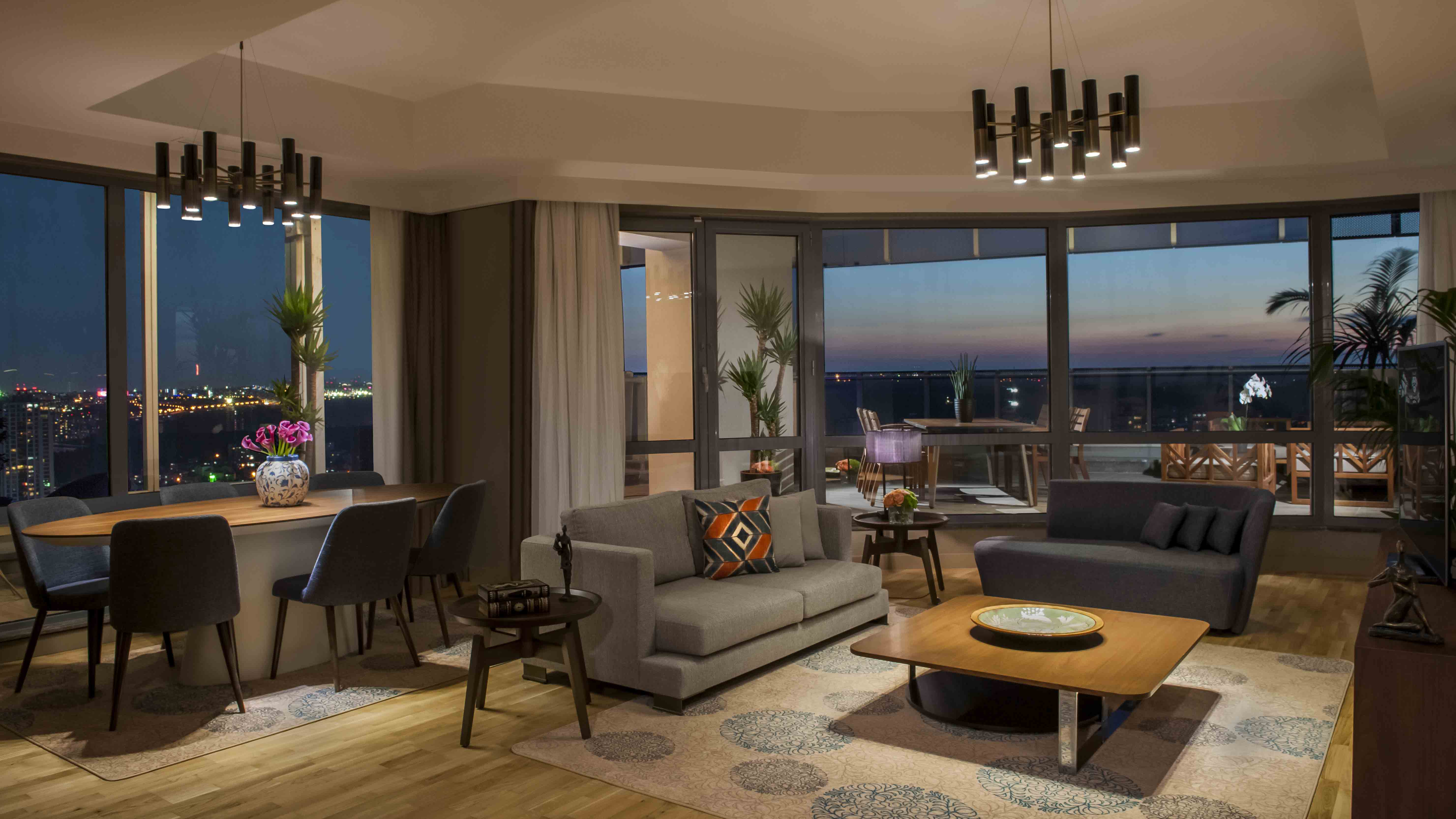 Apartment View of Maslak Konaklama in Istanbul - Mace Group