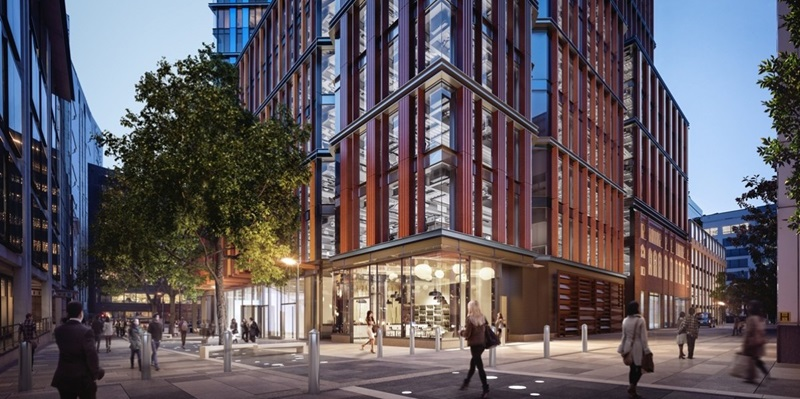 Street View of One Crown Place - Mace Group