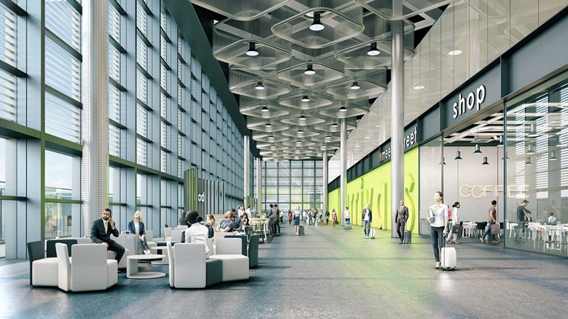 London Stansted Arrivals Terminal Shops - Mace Group