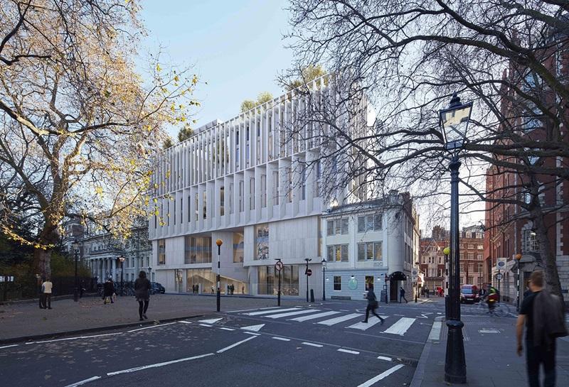 Street Crossing, LSE Marshall Building - Mace Group