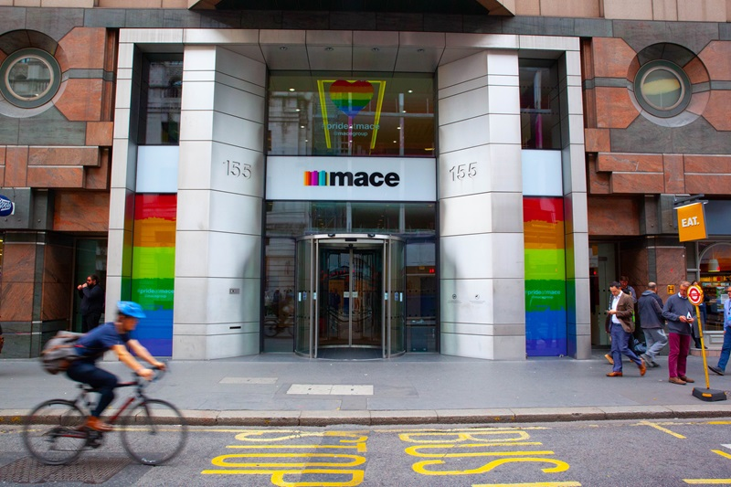 Mace HQ Office Main Entrance - Mace