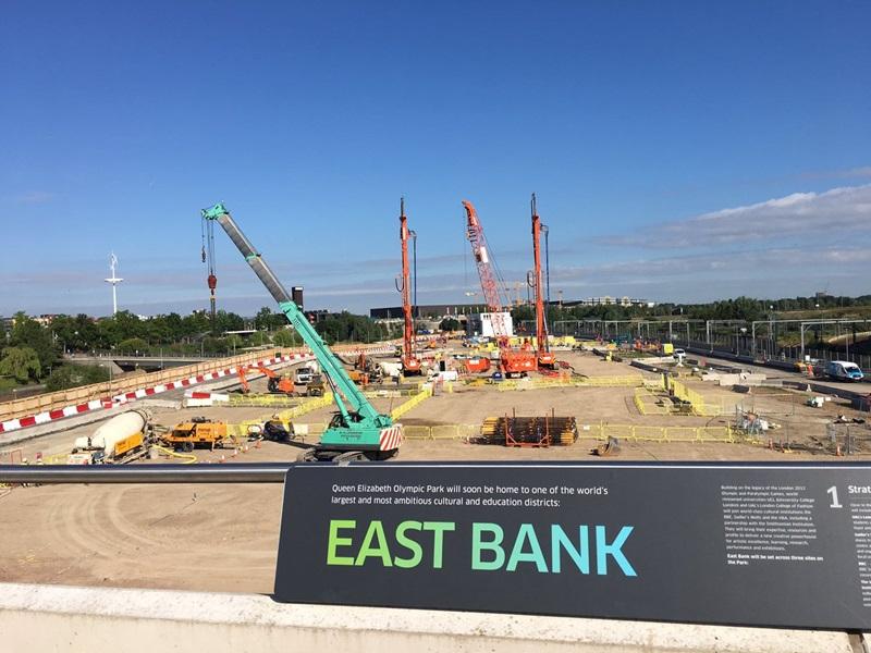 Mace Cranes: East Bank Ground Breaking - Mace Group