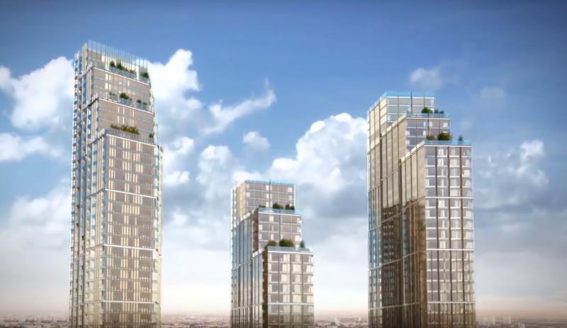 Nine Elms Square Buildings - Mace Group