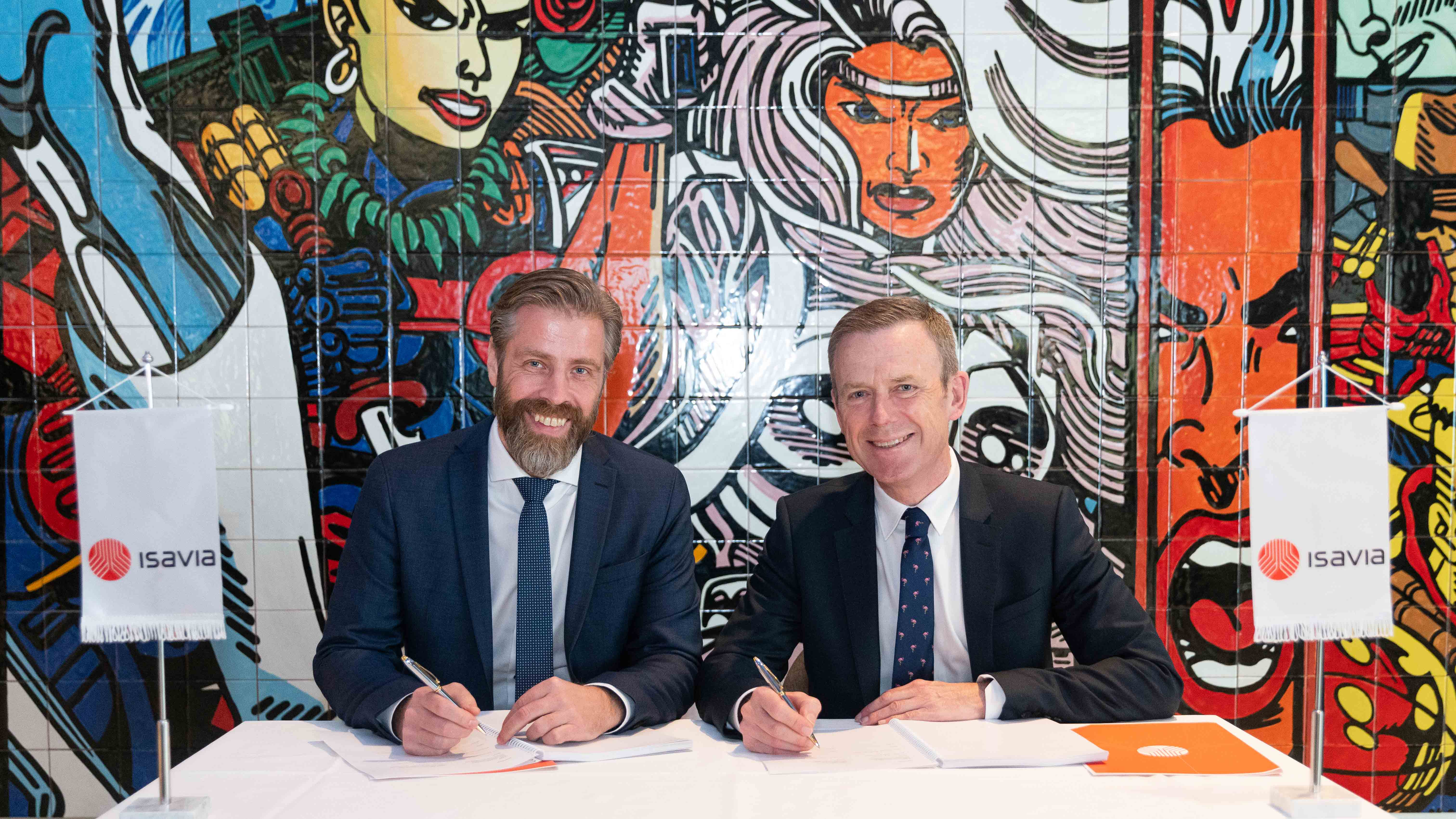 Keflavik Airport Contract Signing - Mace Group