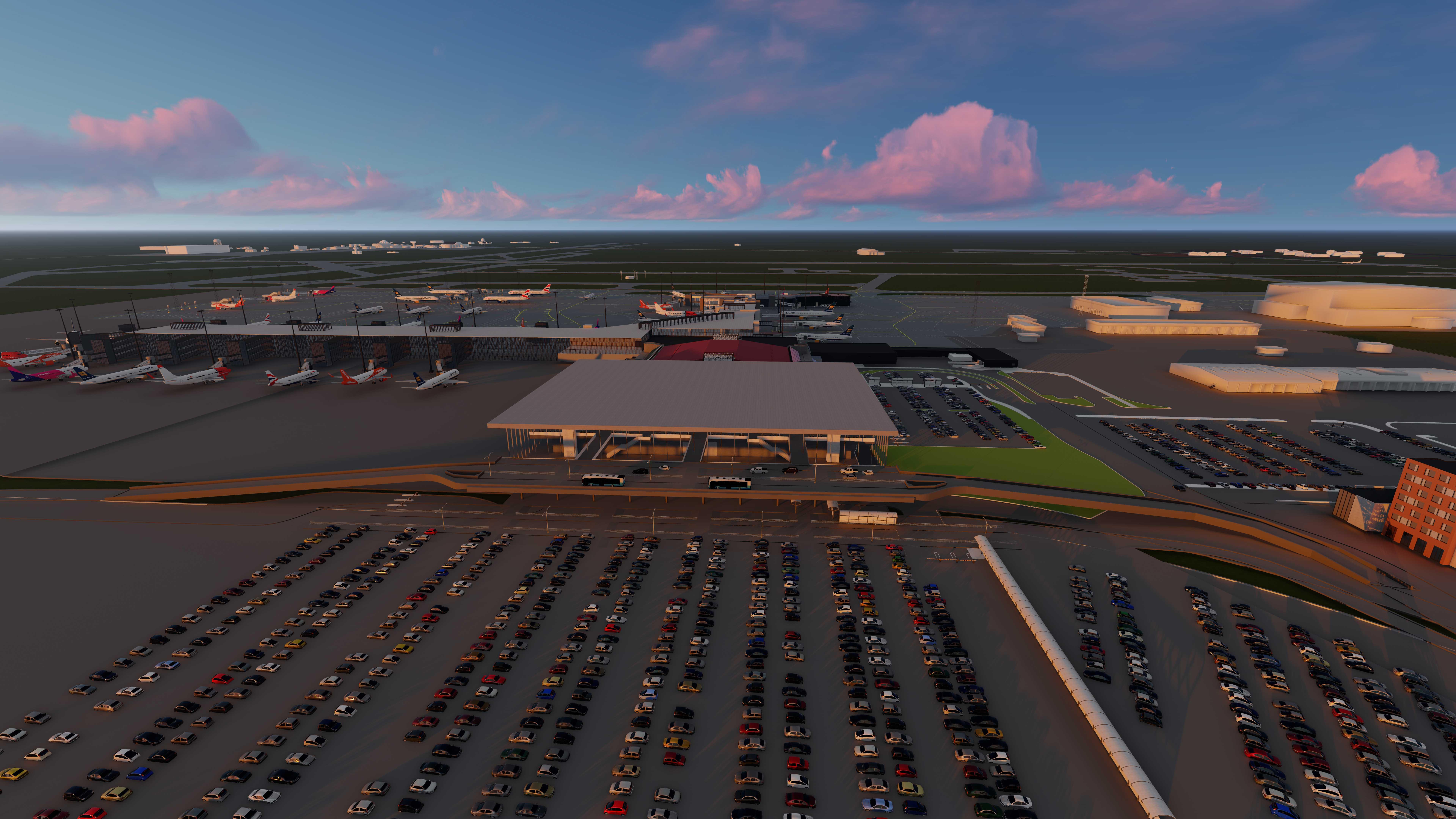 CGI View of Keflavik Airport - Mace Group