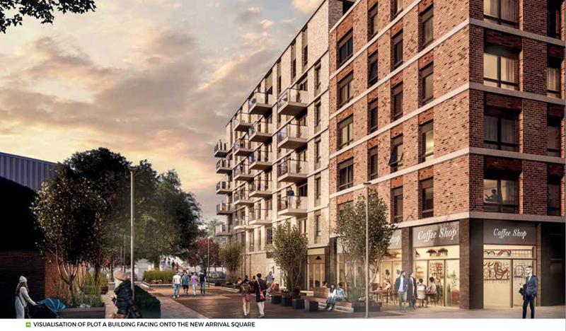 Stevenage Town Centre Building Exterior - Mace Group