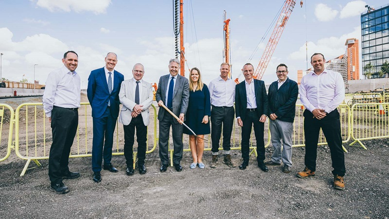 Mace People at East Bank Ground Breaking - Mace Group
