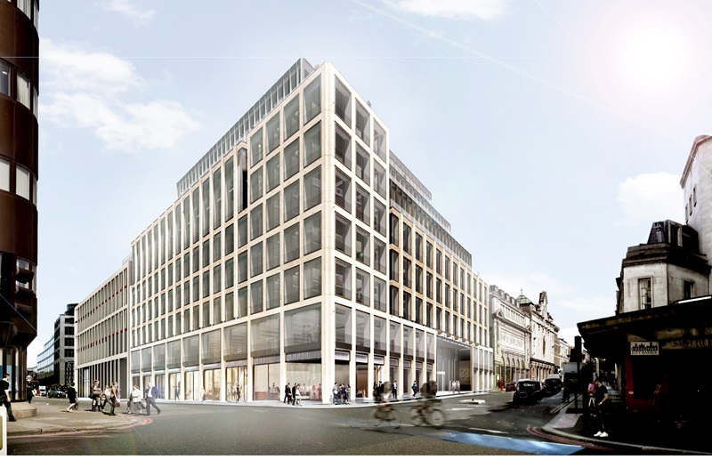 CGI of a Building - Mace Group