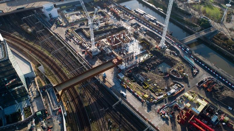 Aerial View of Carpenters Land Bridge - Mace Group