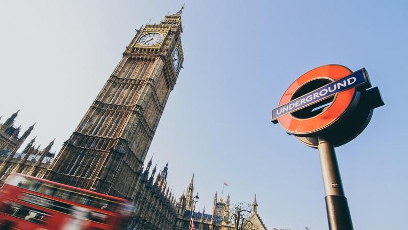TFL Underground Station, London Big Ben - Mace Group