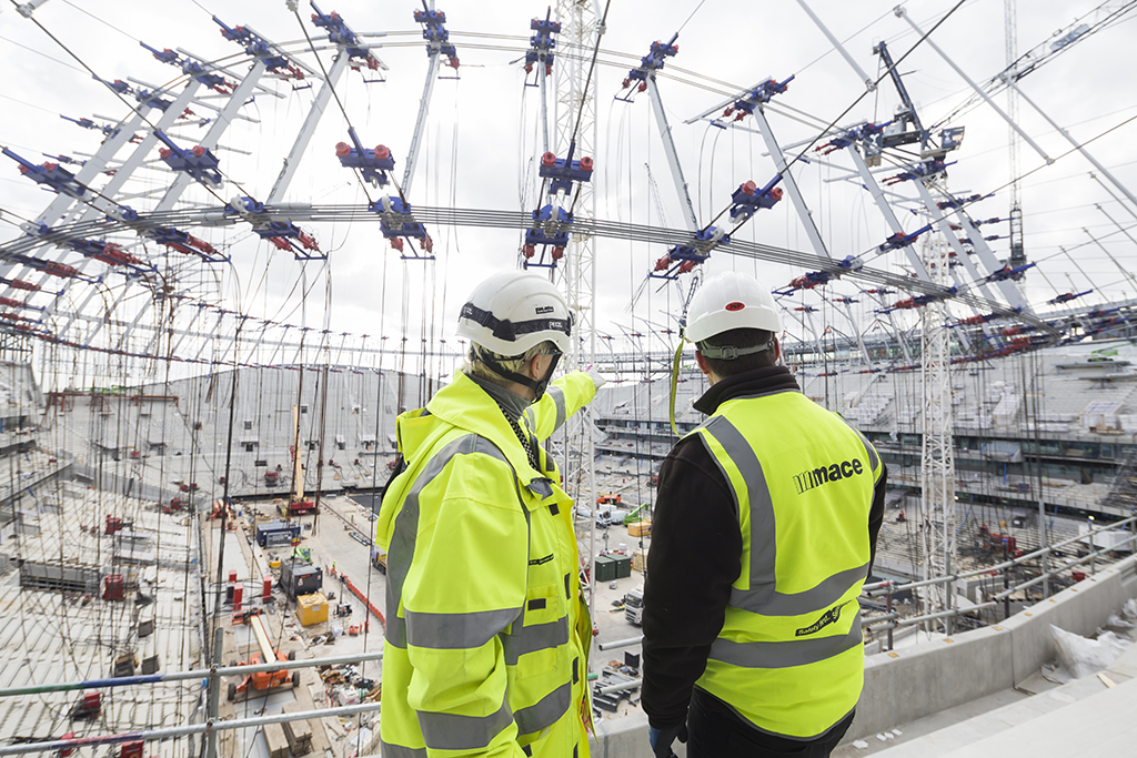 Building a Stadium, Construction - Mace Group
