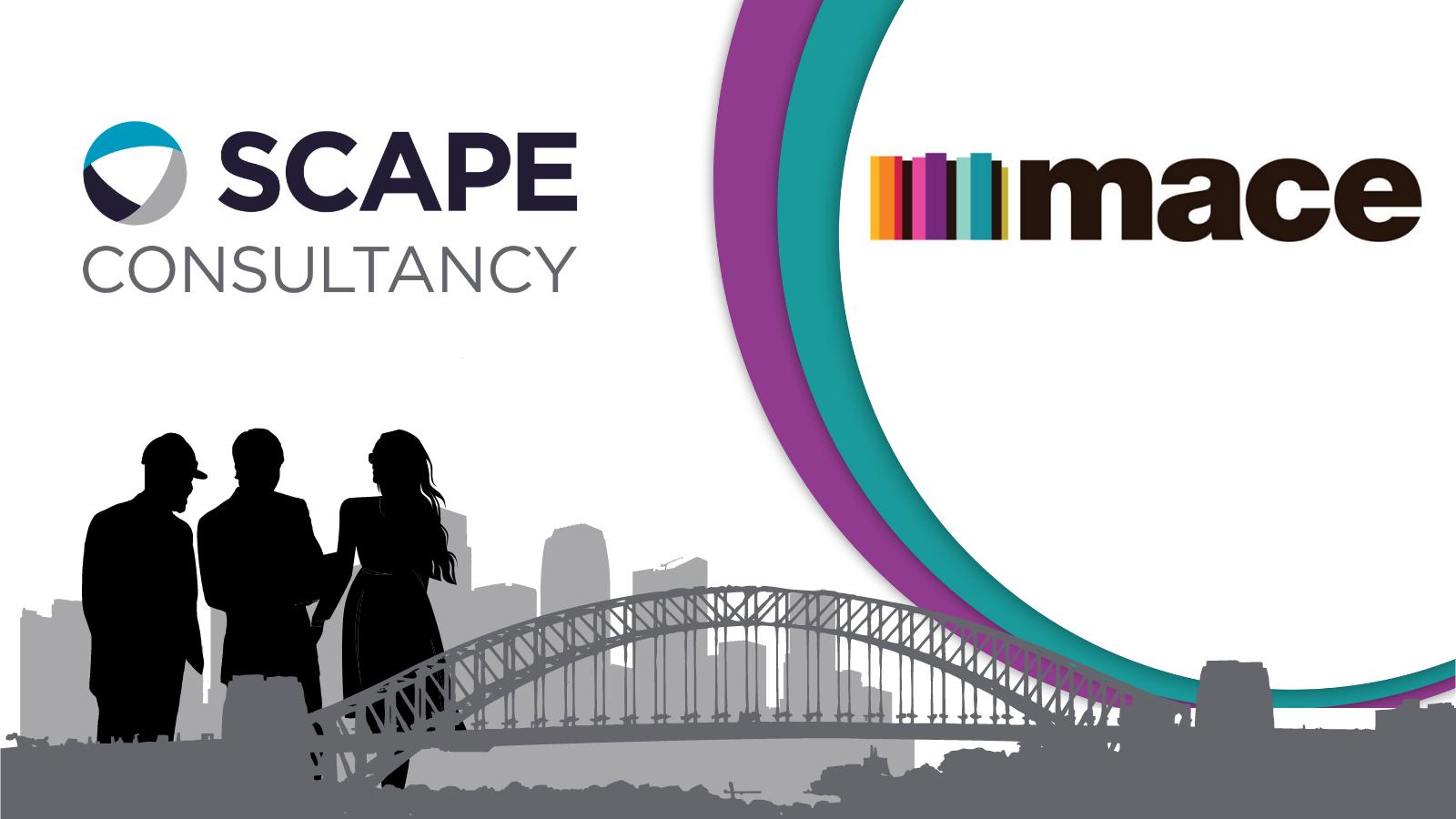 Scape Consultancy Partnership Logo - Mace Group