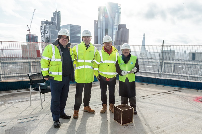 Mace Construction Team at a Building Site - Mace Group
