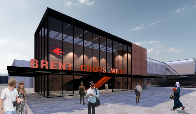 CGI of Brent Cross West View - Mace Group