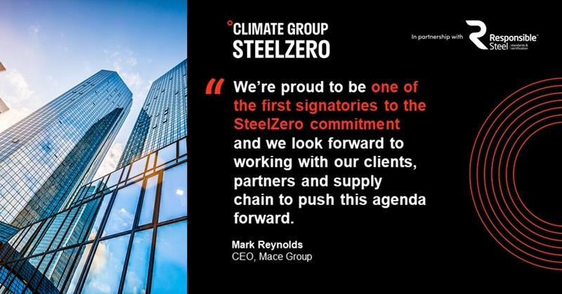 Steel Zero Quote Card, Mark Reynolds - Mace Group
