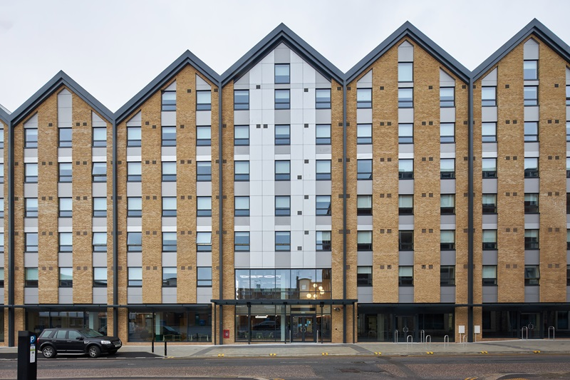 Exeter Student Accommodation Building Exterior - Mace Group