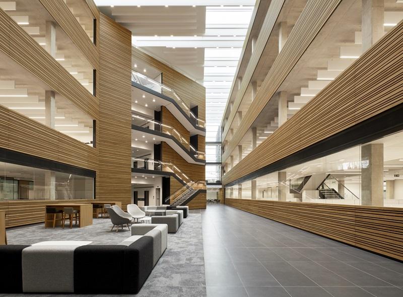 Modern Building Interior - Mace Group
