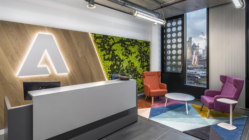 Adobe Office Reception Desk - Mace Group
