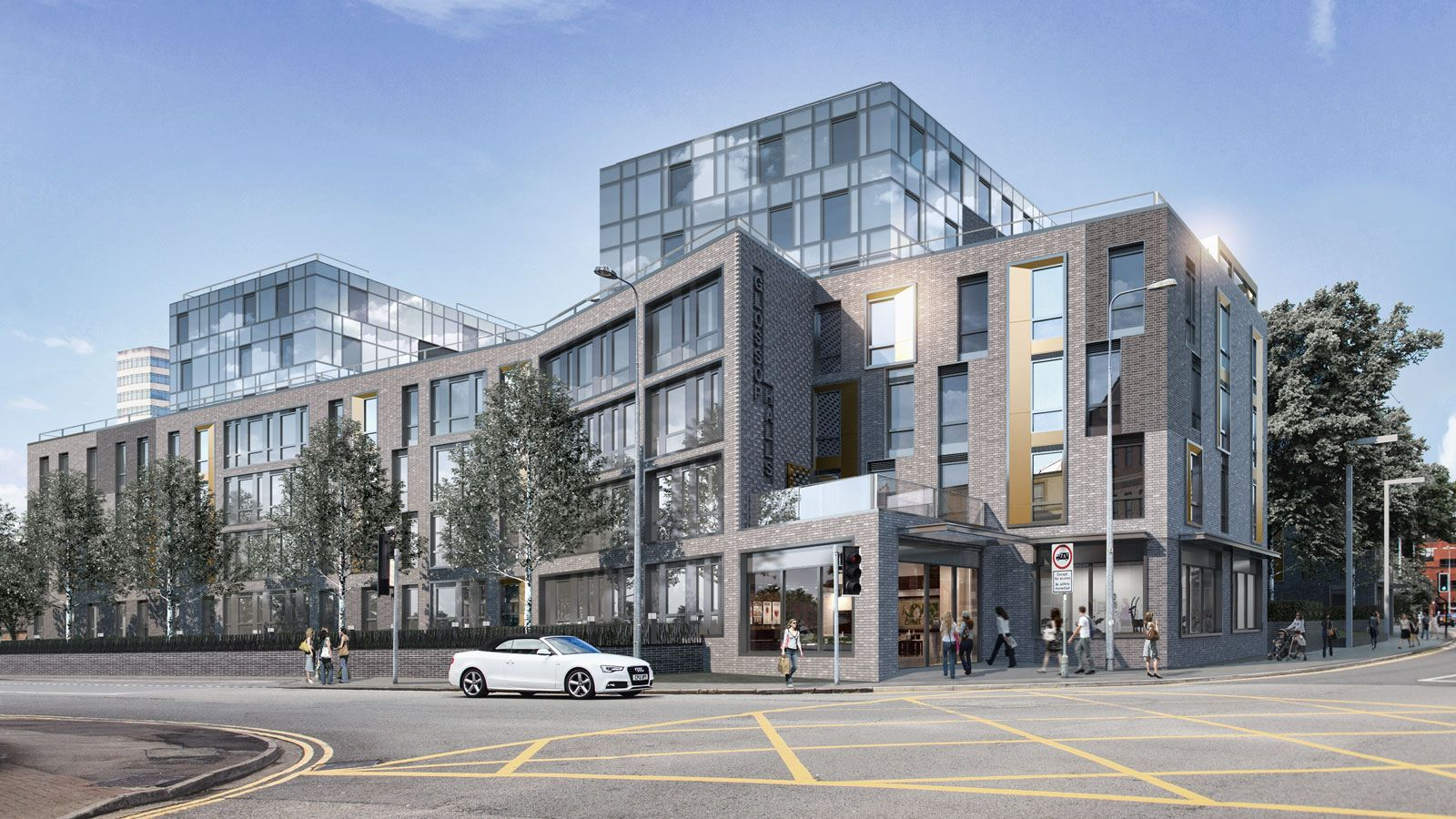 Street View of Glossop Road - Mace Group