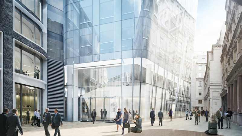 CGI View of One Angel Court - Mace Group