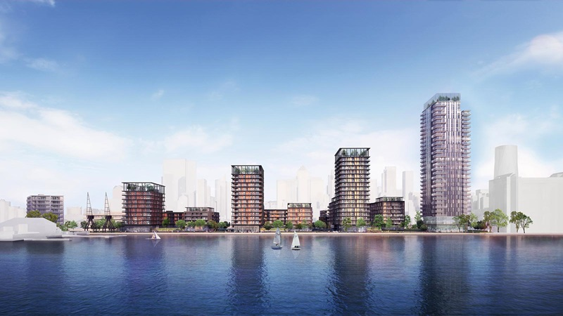 Westferry Waterfront Buildings - Mace Group