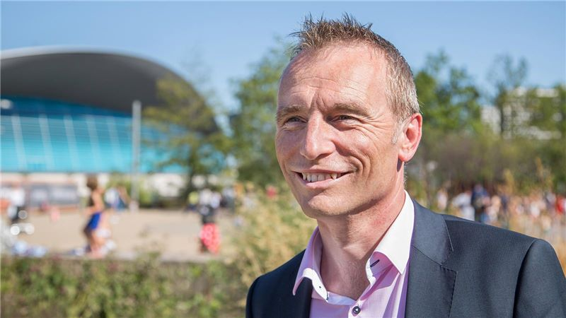 Colin Naish Smiling, Executive Director for Construction, LLDC - Mace Group