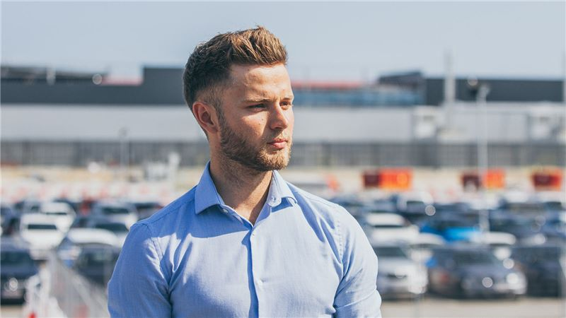 Rob Tant in a Car Park - Mace Group