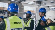 Men construction workers