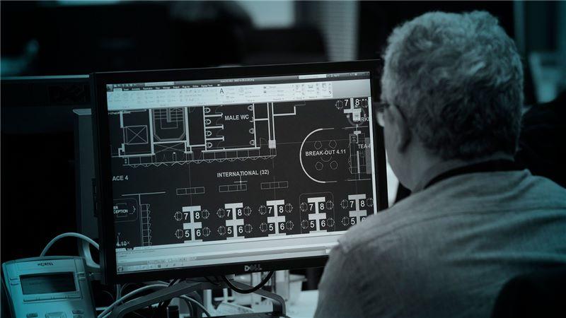 Tinted Monitor Screen - Mace Group