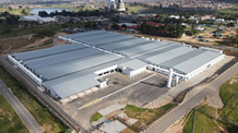 Baragwanath Hospital - Mace Group. Day vision of a new hospital in Johannesburg, South Africa