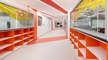University Colorful Corridor - Mace
