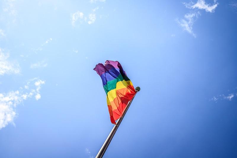 LGBTQ flag Mace Group