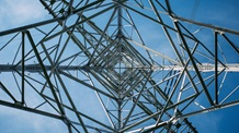Vertical view of a power pylon - Mace Group